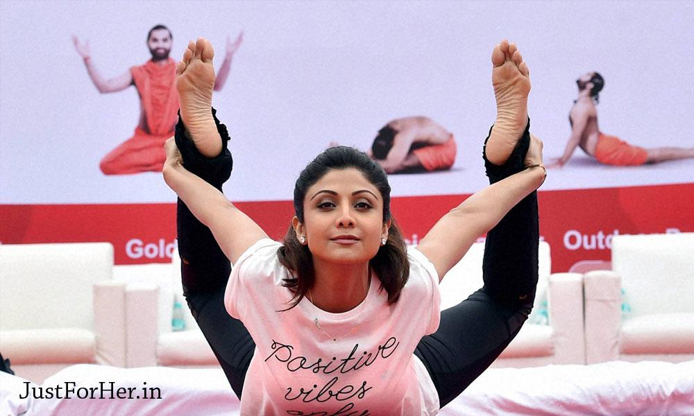 Effective Yoga Tips from Shilpa Shetty